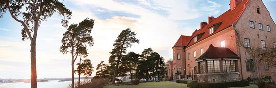 Bild Högberga Gård och utsikt