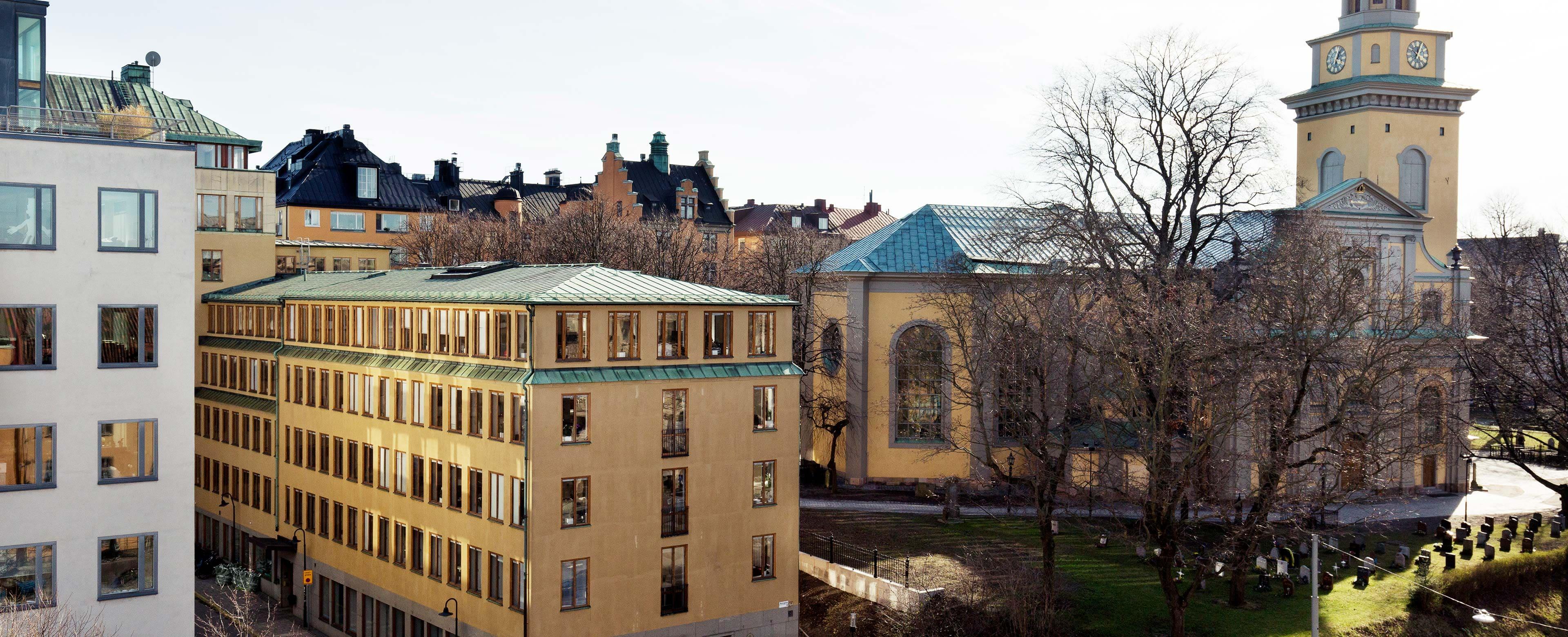 Lediga rum kontorshotell Hornsgatan